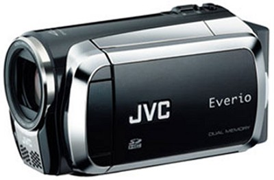 Everio GZ-MS120 Dual SD Card Camcorder - Black - OPEN BOX