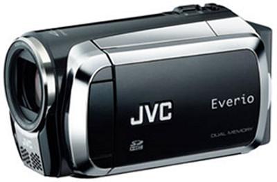 Everio GZ-MS120 Dual SD Card Camcorder - Black - OPEN BOX