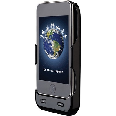 XGPS251 Portable GPS and Battery Cradle for iPod touch