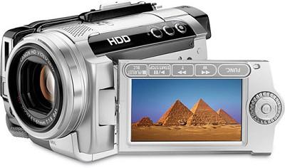 HG10 - 40-gigabyte Hard Drive High-definition Camcorder