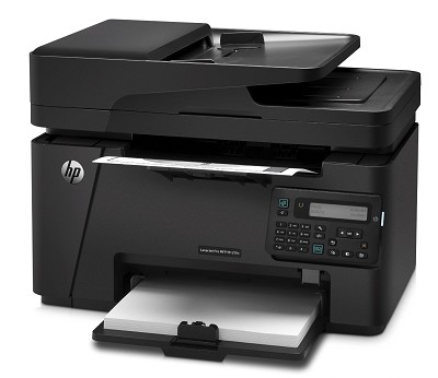 M127FN Networked Monochrome Laserjet Printer with Scanner, Copier and Fax