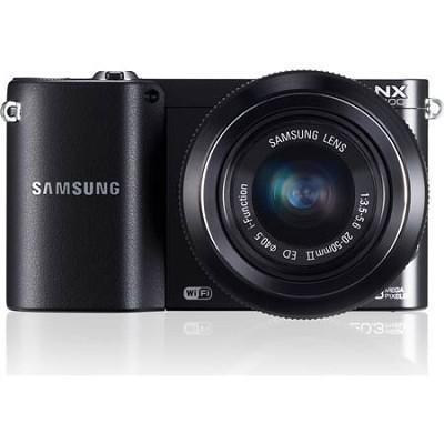 NX1100 20.3MP Black Smart Digital Camera with 20-50mm F/3.5-5.6 ED II Lens