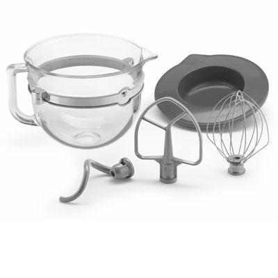 6-Quart Glass Bowl Accessories Bundle - KSMF6GB