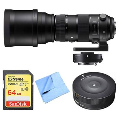 150-840mm F5-6.3 Sports Nikon Lens, Teleconverter, and Dock Bundle