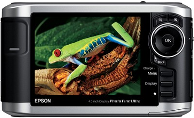 P-3000 Multimedia Storage Viewer w/40GB Hard Drive and 4` LCD