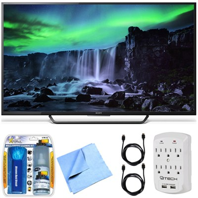 XBR-65X810C - 65-Inch 4K Ultra HD 120Hz Android Smart LED TV Essentials Bundle
