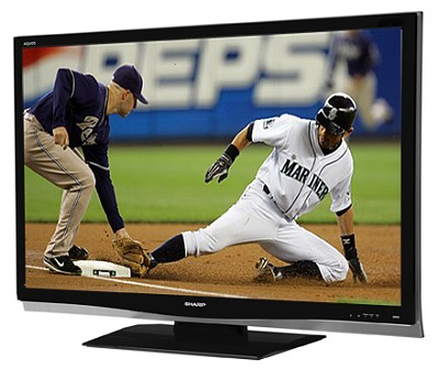 LC-32D64U AQUOS Slim-line 32`  HD 1080p LCD Panel TV