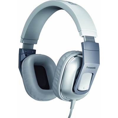 Over-the-Ear StreetBand Monitor Headphones w/ Remote & Mic - White