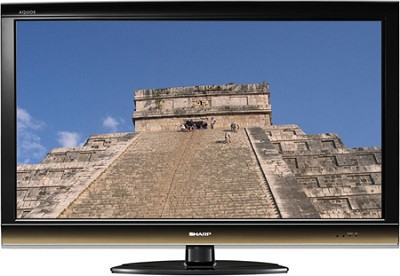 LC40E77U - AQUOS 40` High-definition 1080p 120Hz LCD TV