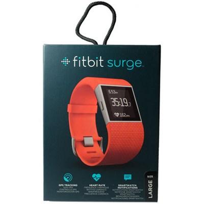 Surge Fitness Superwatch, Tangerine, Large (6.3-7.8`)