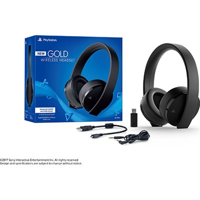 PlayStation 4 Gold Wireless Gaming Headset - 3002498