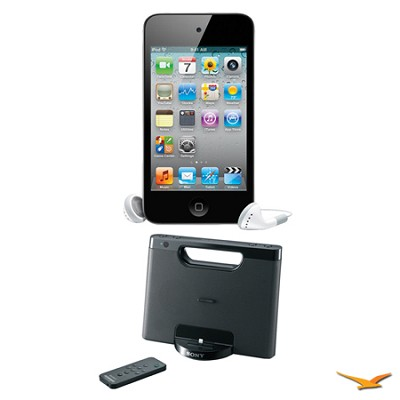 iPod Touch 32GB 4th Gen. MP3 and Media Player and RDPM7IP Speaker Dock Bundle