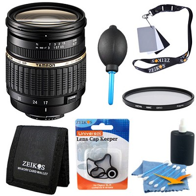 17-50mm f/2.8 XR Di-II LD Aspherical [IF] SP AF Zoom Lens Kit for Canon EOS
