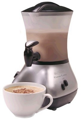 Cocoa-Latte Chrome 32-Ounce Hot-Drink Maker