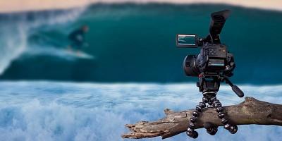 Gorillapod Focus (GP8) Flexible Tripod for Digital SLR Cameras (Supports 11 Lbs)