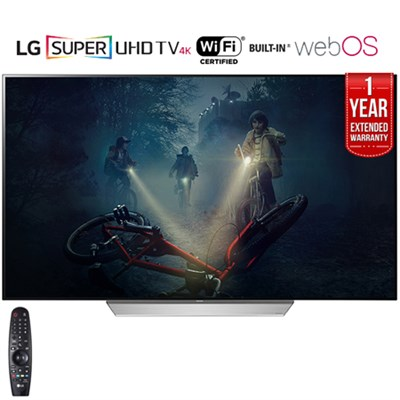 55` C7P OLED 4K HDR Smart TV (2017) + 1 Year Extended Warranty - Refurbished