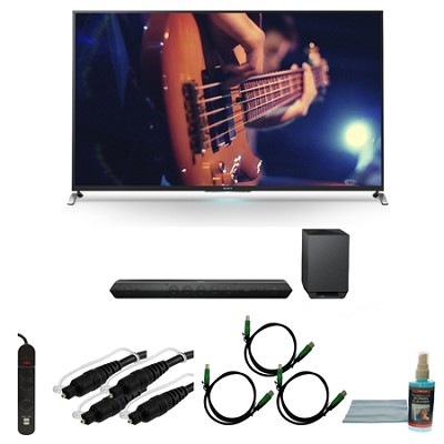 KDL55W950B - 55-Inch Ultimate Smart 3D LED HDTV Motionflow Bundle