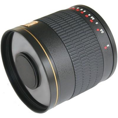 800mm F8.0 Mirror Lens  (Black Body) - 800M-B