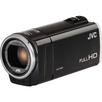 GZ-E100BUS - HD Everio Camcorder 40x Zoom f1.8 (Black)