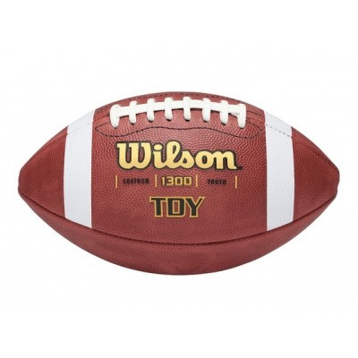 Youth Leather Game Ball Football