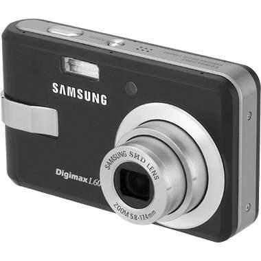 Digimax L60 Digital Camera (Black)