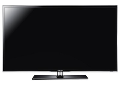 UN40D6400 40 inch 120hz 1080p 3D LED HDTV  - OPEN BOX -CRACKED BEZEL