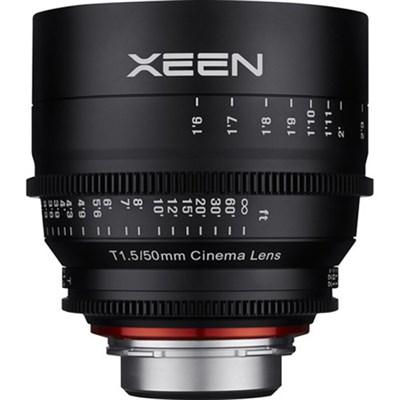 Xeen 50mm T1.5 Lens for PL Mount