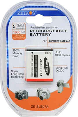SLB07A Battery for Samsung TL225, TL220, TL210, ST550, ST500, ST50