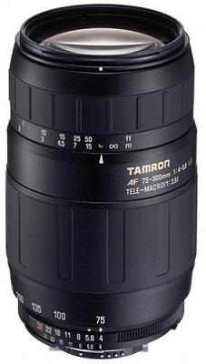 75-300mm F/4-5.6 LD For SONY ALPHA/MAXXUM - OPEN BOX