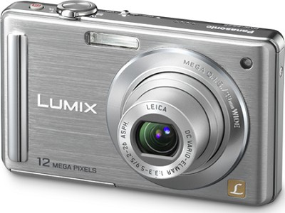 DMC-FS25S LUMIX 12.1 MP Compact Digital Camera w/ 3.0` Intelligent LCD (Silver)