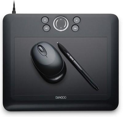 Bamboo Fun Medium Black Tablet CTE650K-30.00 Mail In Rebate!!