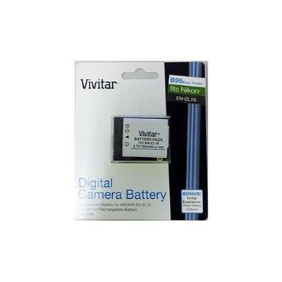 650mah Replacement / Extra Battery for Nikon Coolpix S3700, S5200, S6500