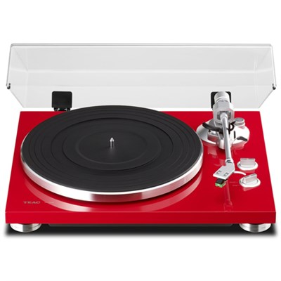 TN-300 2-Speed Analog Turntable - Red