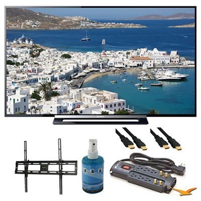 KDL-50R450A 50` 1080p Black LED HDTV Wall Mount Bundle