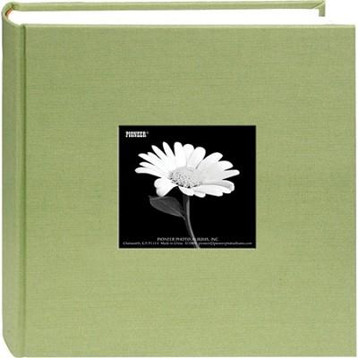DA-200CBF Fabric Cover w/ Frame 200 4x6` Photo Memo Album (Sage Green)