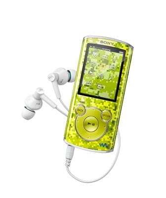 NWZ-E464 8 GB Walkman MP3 Player (Green)