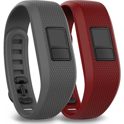 vivofit 3 XL Accessory Bands - Slate/Marsala (010-12452-02)
