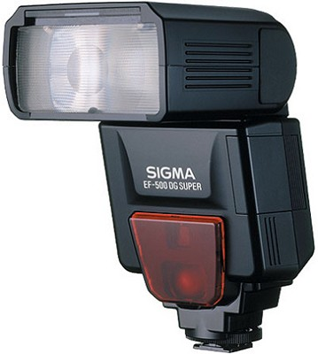 EF-500 Super DG Flash for Canon EOS E-TTL