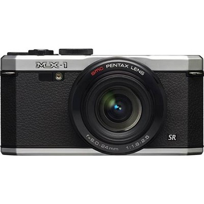 MX-1 12 MP Silver Digital Camera with 3` LCD and 1080p HD Video