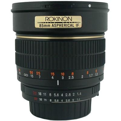 85mm f/1.4 Aspherical Lens for Micro Four Thirds Cameras