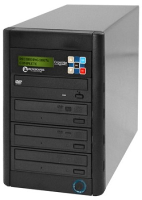 CopyWriter DVD-316  Premium Tower Copier - 1 to 3 DVD Duplicator