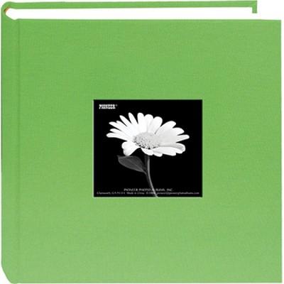 DA-200CBF Fabric Cover w/ Frame 200 4x6` Photo Memo Album (Citrus Green)