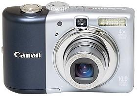 Powershot A1000 IS Digital Camera (Blue)