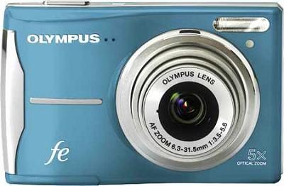 FE-46 12MP Digital Camera w/ 5x Optical Zoom, 2.7 in LCD (Light Blue) - OPEN BOX