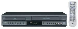 HR-XVC16B - DVD + 4 Head Hi-Fi VCR Progressive Scan Dual Deck (Black)