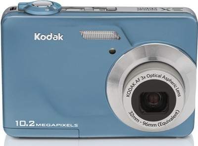 EasyShare C180 10.2 MP 3x Zoom 2.4` LCD Digital Camera (Teal)