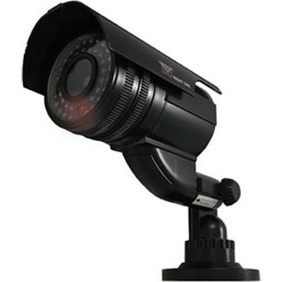 Decoy Black Bullet Camera with Flashing LED Deterrent Light