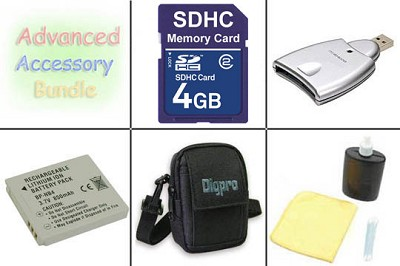 Bargain Accessory Kit for Powershot SD 1000 / 1100