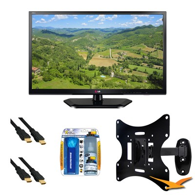 29LN4510 29 Inch TV 720p 60Hz EDGE LED HDTV Mount Bundle
