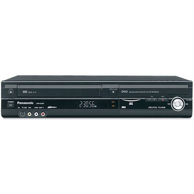 DMR-EZ48VK DVD Recorder VCR Combo w/ built-in TV tuner & upconversion - OPEN BOX